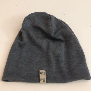 Minus33 100% merino wool beanie Grey